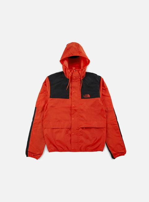 giacche the north face 1985 seas mountain jacket fiery red