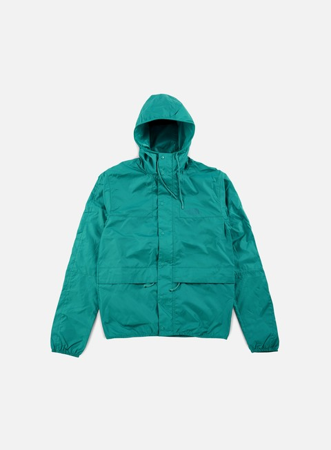 giacche the north face 1985 seas mountain jacket teal blue