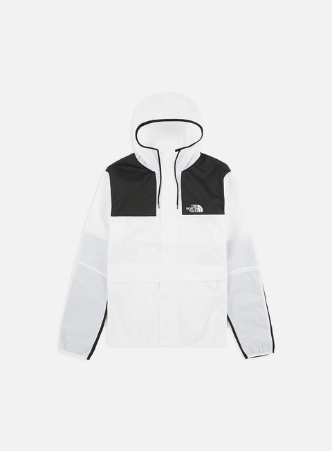 giacche the north face 1985 seas mountain jacket white