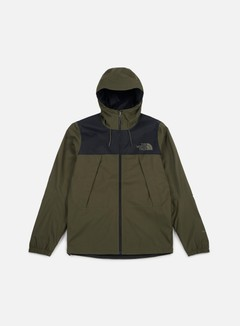 The North Face - 1990 Mountain Q Jacket, TNF Black/New Taupe Green