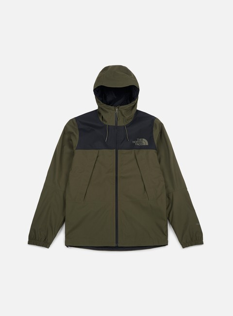 giacche the north face 1990 mountain q jacket tnf black new taupe green