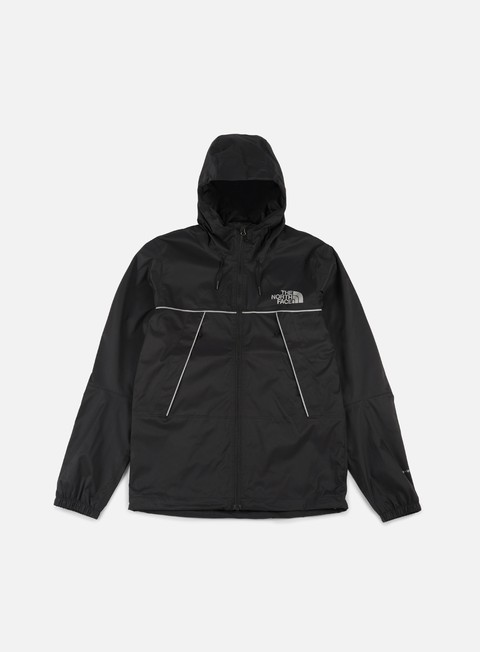giacche the north face 1990 mountain q jacket tnf black silver reflective