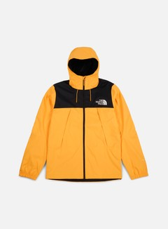 The North Face - 1990 Mountain Q Jacket, TNF Black/TNF Yellow