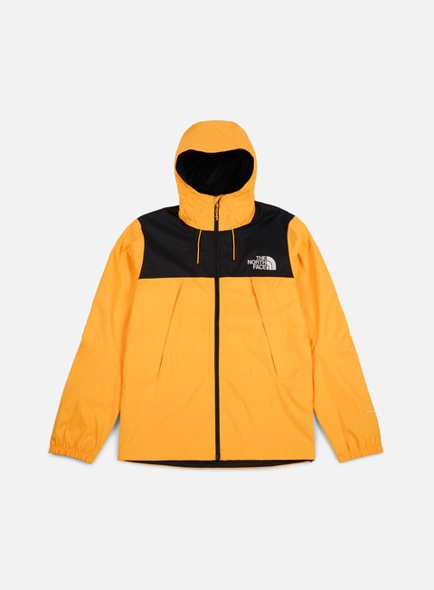 giacche the north face 1990 mountain q jacket tnf black tnf yellow