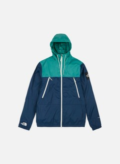 The North Face - 1990 Seas Mountain Jacket, Blue Wing Teal/Porcelain Green