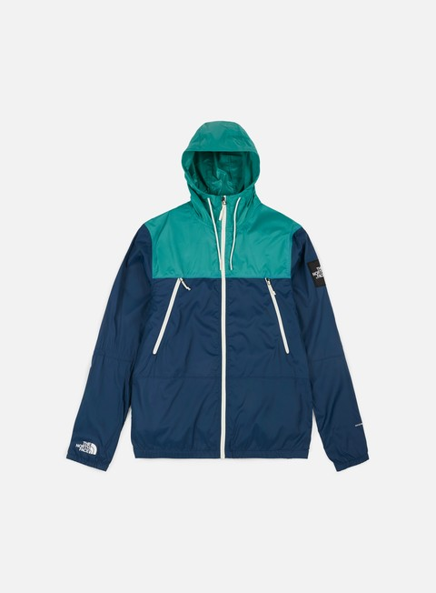 giacche the north face 1990 seas mountain jacket blue wing teal porcelain green