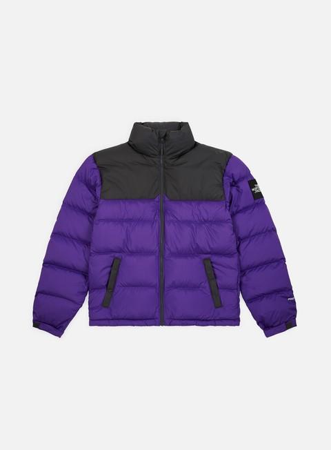 giacche the north face 1992 nuptse jacket tillandsia purple asphalt grey