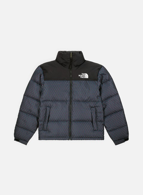 giacche the north face 1996 engineered jacquard nuptse jacket cmyk engineered jacquard