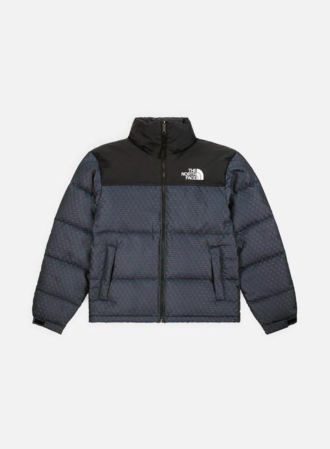 giacche the north face 1996 engineered jacquard nuptse jacket cmyk engineered jacquard