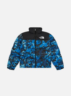 The North Face - 1996 Retro Nuptse Jacket, Clear Lake Blue Himalayan Camo Print