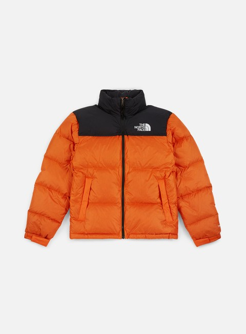 giacche the north face 1996 retro nuptse jacket perisan orange