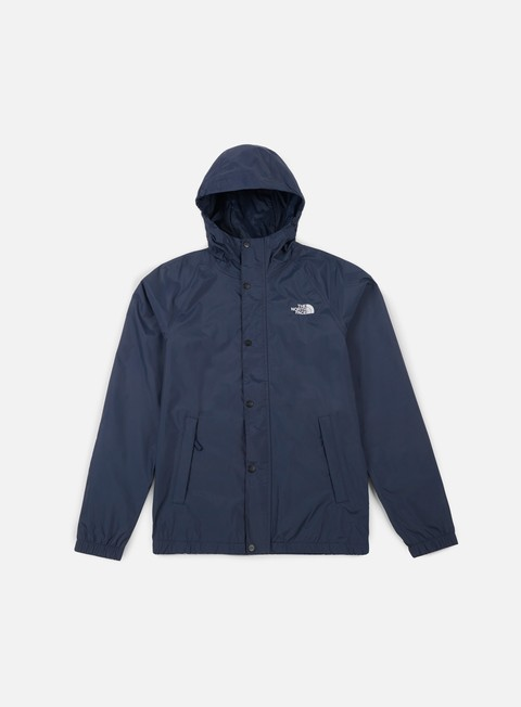 giacche the north face berkeley shell jacket urban navy
