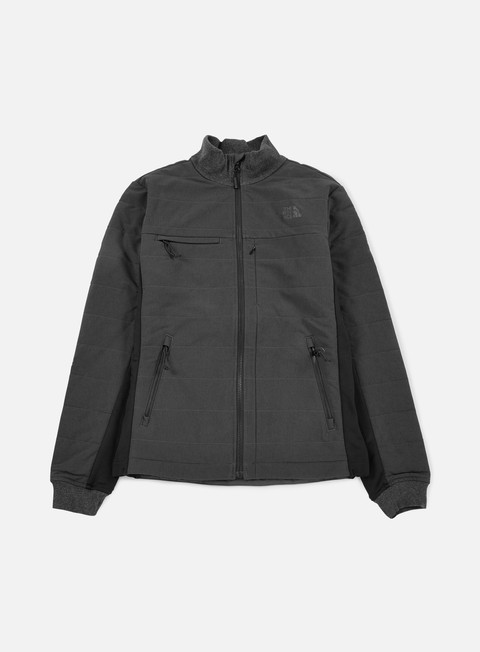 giacche the north face bionic denali jacket tnf dark grey heather