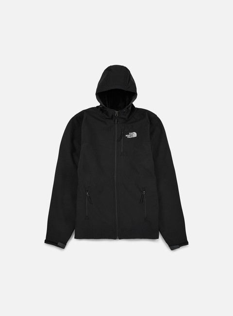 giacche the north face durango hooded jacket tnf black