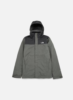 The North Face - Evolve II Triclimate Jacket, Fusebox Grey/Asphalt Grey