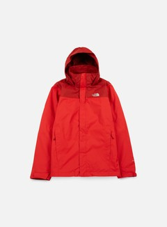The North Face - Evolve II Triclimate Jacket, TNF Red/Cardinal Red