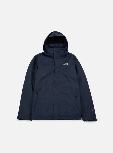 giacche the north face evolve ii triclimate jacket urban navy
