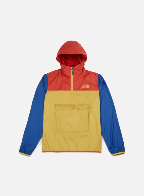 giacche the north face fanorak jacket olivenite yellow
