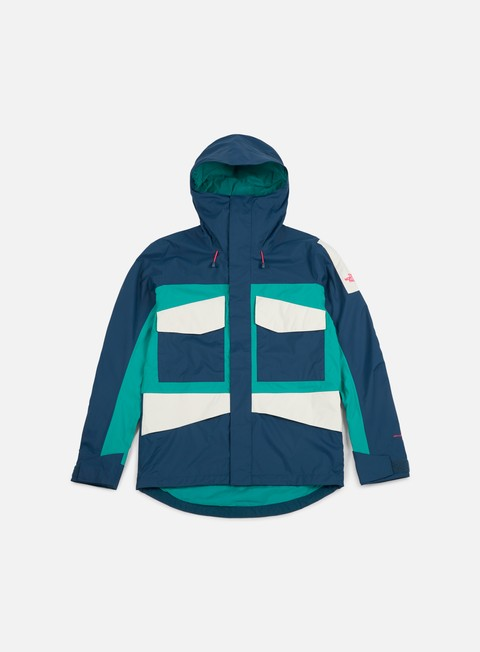 giacche the north face fantasy ridge jacket blue wing teal porcelain green vintage white
