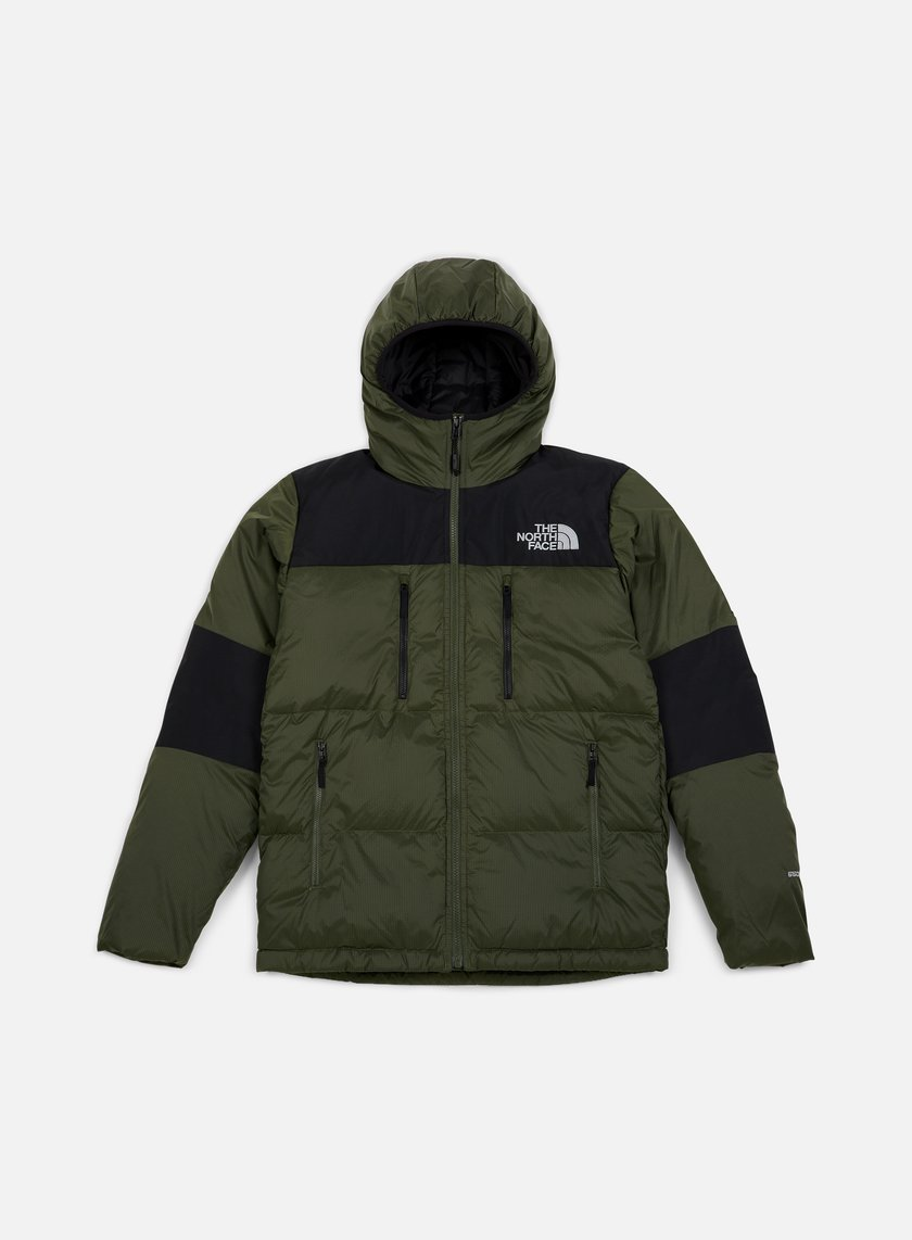THE NORTH FACE GIACCA CON CAPPUCCIO UOMO HIMALAYAN LIGHT DOWN NEW TAUPE GREENTNF BLACK