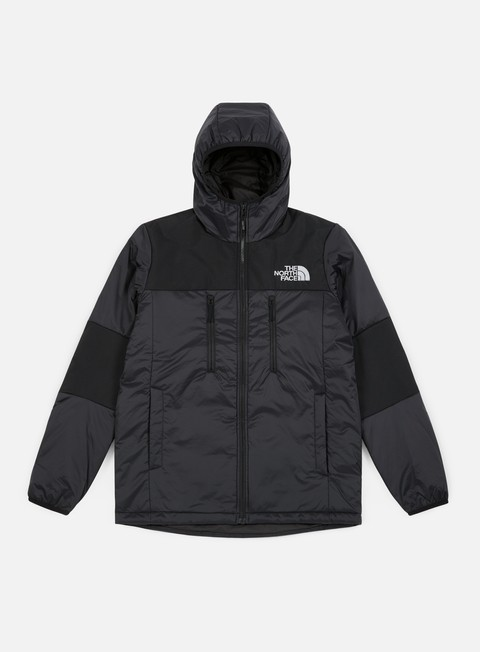 giacche the north face himalayan light synthetic hoodie tnf black