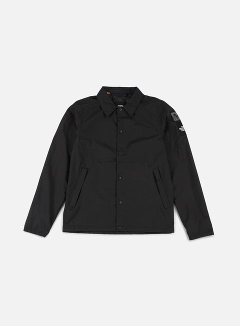 giacche the north face international coaches jacket tnf black