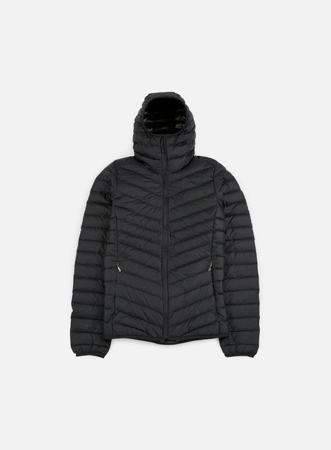 giacche the north face jiyu full zip hooded jacket tnf black