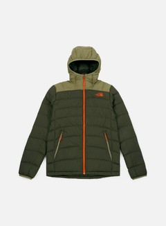 The North Face - La Paz Hooded Jacket, New Taupe Green/Tumble Weed Green