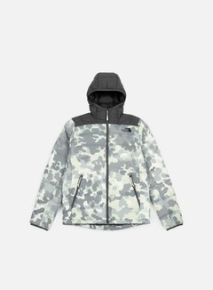 The North Face - La Paz Hooded Jacket, White Macrofleck Camo