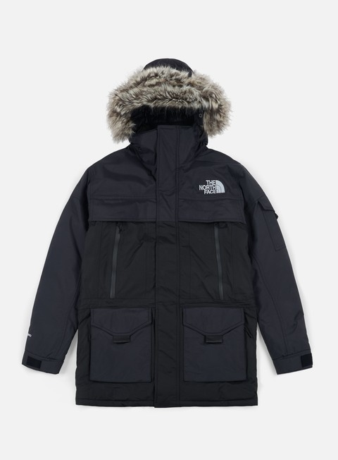 giacche the north face mc murdo 2 jacket tnf black high rise grey