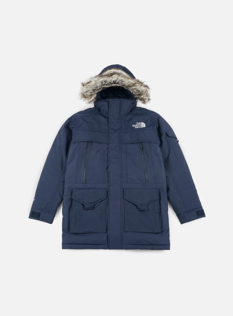 giacche the north face mc murdo 2 jacket urban navy urban navy