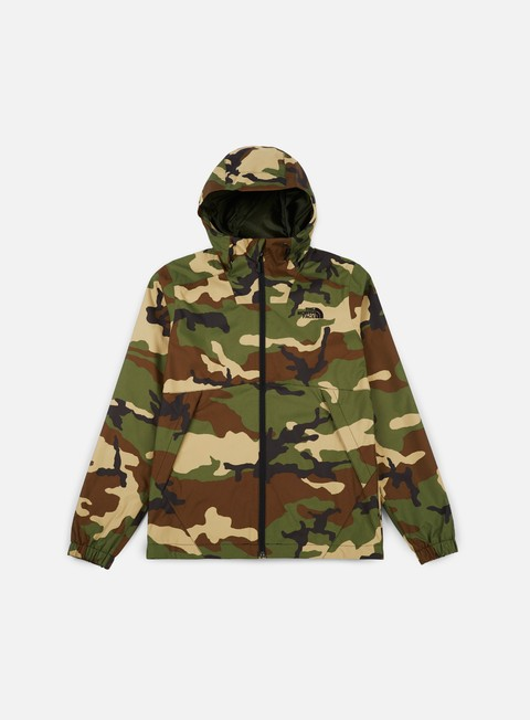 giacche the north face millerton jacket terrarium green woodland camo print