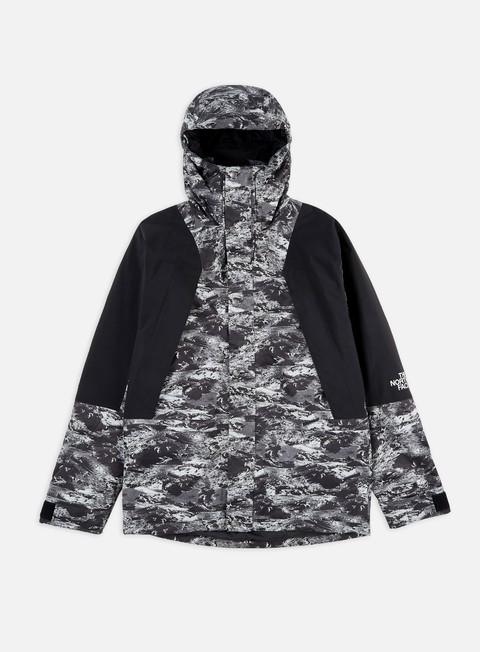 The North Face Jacket Mtn Light DryVent TNF WhiteTNF Black