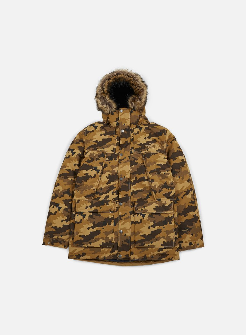 The North Face - Mountain Murdo Jacket, Dijon Brown Camo Print