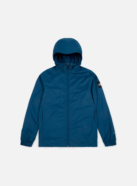 giacche the north face mountain quest jacket blue wing teal