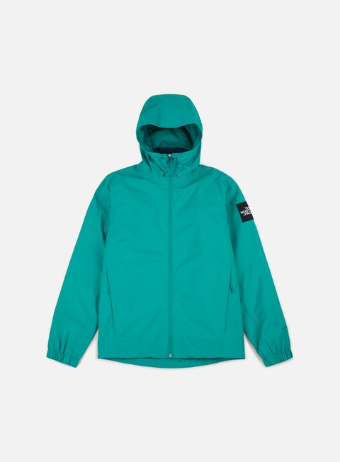 giacche the north face mountain quest jacket porcelain green