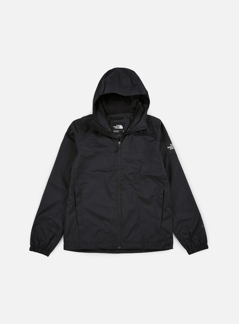 giacche the north face mountain quest jacket tnf black