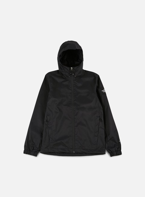 giacche the north face mountain quest jacket tnf black high rise grey