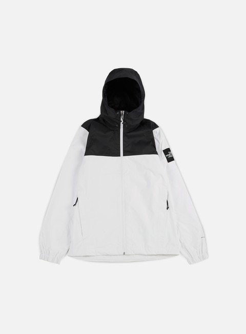 giacche the north face mountain quest jacket tnf white tnf black