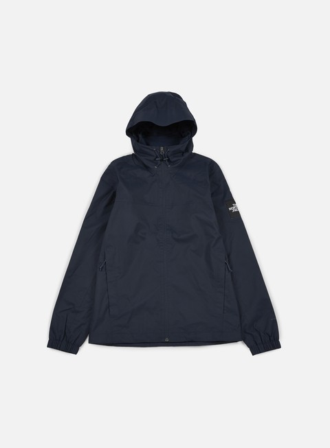 giacche the north face mountain quest jacket urban navy