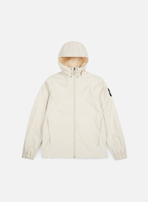 giacche the north face mountain quest jacket vintage white