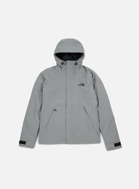 giacche the north face naslund triclimate jacket monument grey black heather