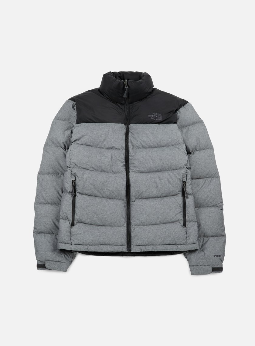 the north face nuptse 2 jacket tnf medium grey heather. Black Bedroom Furniture Sets. Home Design Ideas
