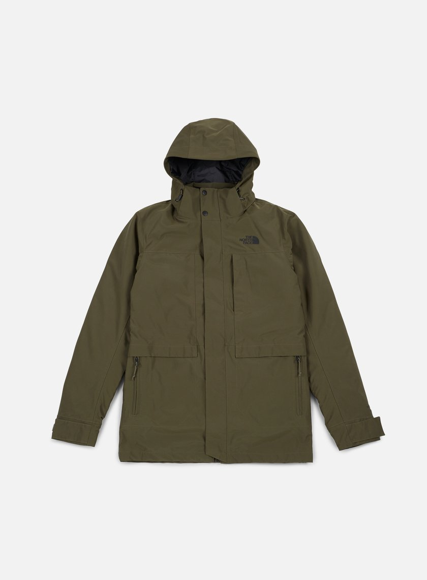 The North Face - Outer Boroughs Triclimate Jacket, New Taupe Green
