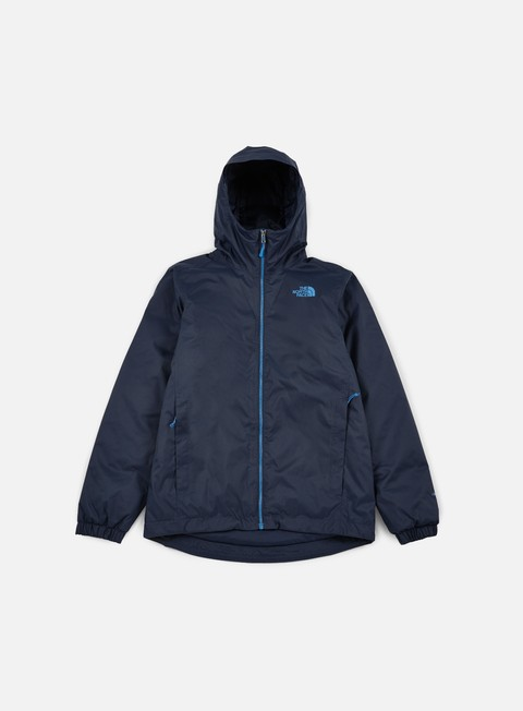 giacche the north face quest insulated jacket urban navy