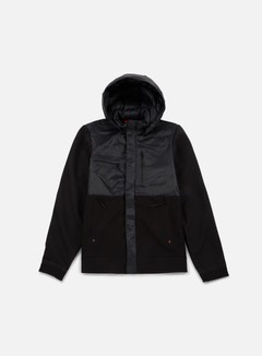 The North Face - Red Denali Full Zip Jacket, TNF Black 1