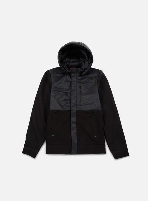 Outlet e Saldi Giacche Leggere The North Face Red Denali Full Zip Jacket
