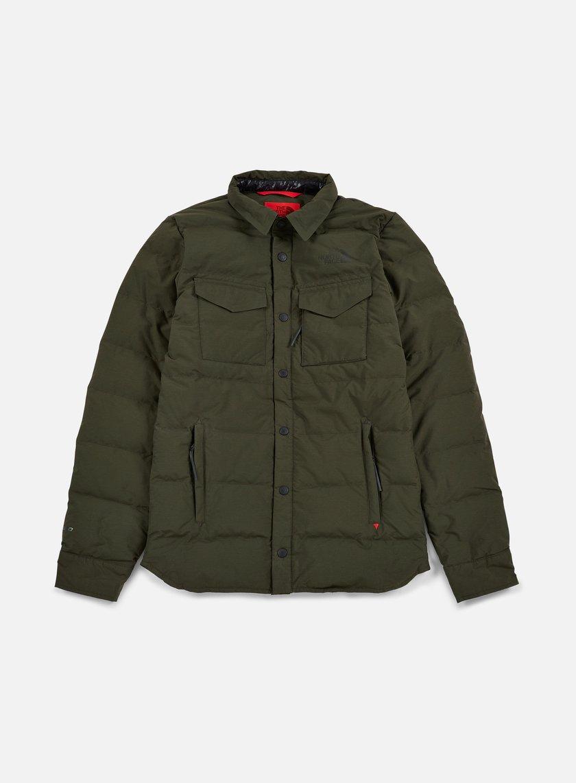 The North Face - Red Hoodoo Shirt Jacket, Rosin Green