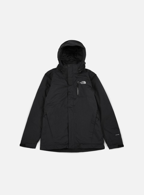 giacche the north face solaris triclimate jacket tnf black tnf black