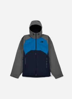 The North Face - Stratos Jacket, Urban Navy/Fusebox Grey 1